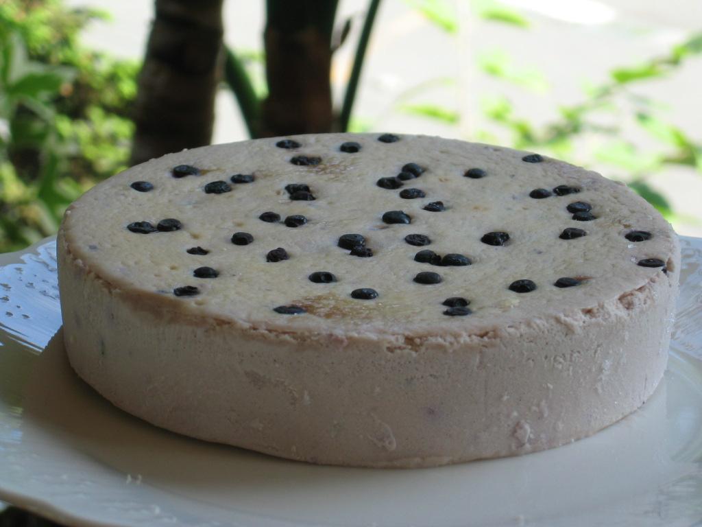 ブルーベリーチーズケーキ5号(15cm)【季節限定】