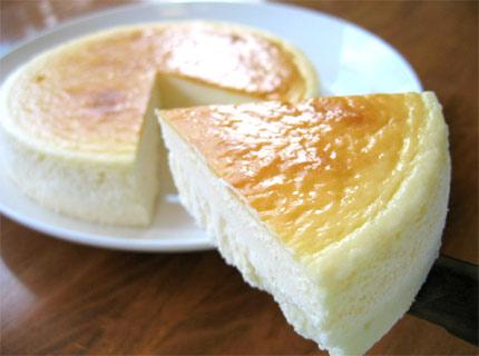 盛岡チロルふわっと超濃厚スプーンで食べるクリームチーズケーキ7号21センチ